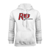 White Fleece Hoodie-Basketball-Womens