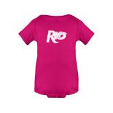 Fuchsia Infant Onesie-Rio