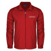 Full Zip Red Wind Jacket-RedStorm