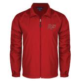 Full Zip Red Wind Jacket-Rio