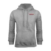 Grey Fleece Hood-RedStorm