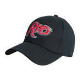 Black Heavyweight Twill Pro Style Hat-Rio