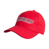 Red Heavyweight Twill Pro Style Hat-RedStorm