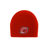 Red Knit Beanie-Cyclone O