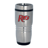 Rolling Ridges Silver Stainless Tumbler-Rio