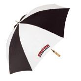 62 Inch Black/White Umbrella-Arched RedStorm Top
