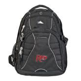 High Sierra Swerve Black Compu Backpack-Rio