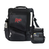 Momentum Black Computer Messenger Bag-Rio
