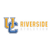 Large Decal-Interlocking UC Riverside Side Version, 12 inches wide