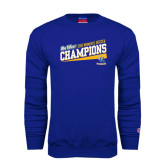Big West Royal Fleece Crew-2015 Womens Soccer - UC Riverside