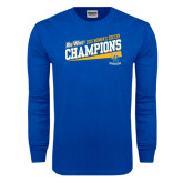Big West Royal Long Sleeve T Shirt-2015 Womens Soccer - UC Riverside