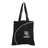 Lunar Black Convention Tote-Interlocking UC Riverside