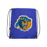 Royal Drawstring Backpack-Highlander Bear