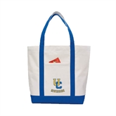 Contender White/Royal Canvas Tote-Interlocking UC Riverside