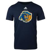 Adidas Navy Logo T Shirt-Highlander Bear