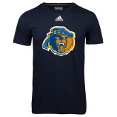Adidas Climalite Navy Ultimate Performance Tee-Highlander Bear