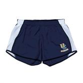 Ladies Navy/White Team Short-Interlocking UC Riverside