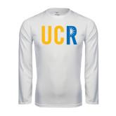 Syntrel Performance White Longsleeve Shirt-UCR