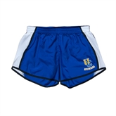 Ladies Royal/White Team Short-Interlocking UC Riverside