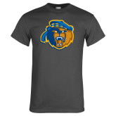 Charcoal T Shirt-Highlander Bear
