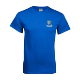 Royal T Shirt-Interlocking UC Riverside