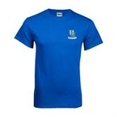 Royal T Shirt-Interlocking UC Riverside