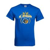 Royal T Shirt-Graphics inside Basketball