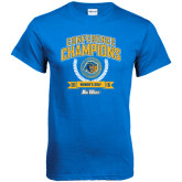 Royal T Shirt-2016 Big West Conference Champions Womens Golf
