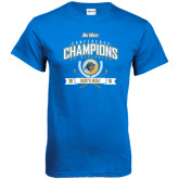 Royal T Shirt-2016 Big West Conference Champions Mens Golf