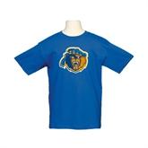 Youth Royal T Shirt-Highlander Bear