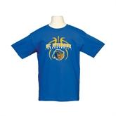 Youth Royal T Shirt-Graphics inside Basketball