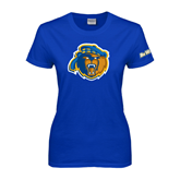 Ladies Royal T Shirt-Highlander Bear