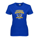 Ladies Royal T Shirt-2016 Big West Conference Champions Womens Golf