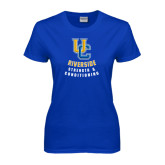 Ladies Royal T Shirt-UC Strength & Conditioning