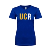Next Level Ladies SoftStyle Junior Fitted Royal Tee-UCR
