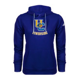 Adidas Climawarm Royal Team Issue Hoodie-Interlocking UC Riverside w/Bear Head