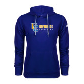Adidas Climawarm Royal Team Issue Hoodie-Interlocking UC Riverside Side Version