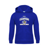 Youth Royal Fleece Hoodie-2016 Big West Conference Champions Mens Golf