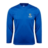 Syntrel Performance Royal Longsleeve Shirt-Interlocking UC Riverside