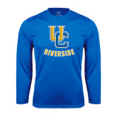 Performance Royal Longsleeve Shirt-Interlocking UC Riverside