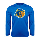 Syntrel Performance Royal Longsleeve Shirt-Highlander Bear