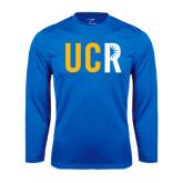 Syntrel Performance Royal Longsleeve Shirt-UCR