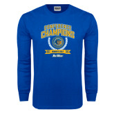 Royal Long Sleeve T Shirt-2016 Big West Conference Champions Womens Golf