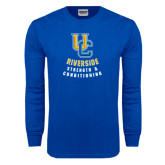 Royal Long Sleeve T Shirt-UC Strength & Conditioning