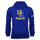 Royal Fleece Hoodie-Interlocking UC Riverside