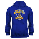 Royal Fleece Hoodie-2016 Big West Conference Champions Womens Golf