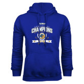 Royal Fleece Hoodie-2016 Big West Conference Champions Mens Golf