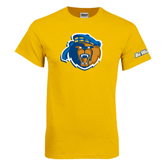 Gold T Shirt-Highlander Bear