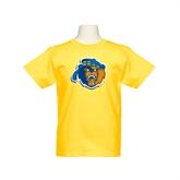 Youth Gold T Shirt-Highlander Bear