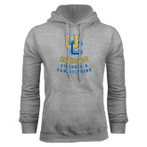 Grey Fleece Hoodie-UC Strength & Conditioning